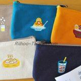 一帆布包-台湾B級グルメ刺繍の小銭入れ 五種類
