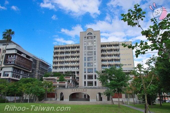 台湾大学の校内