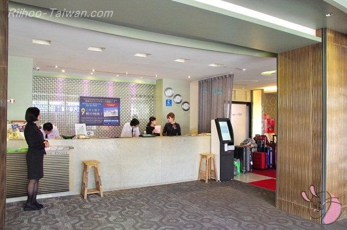 フォワードホテル台北(台北馥華商旅松江館) ロビー