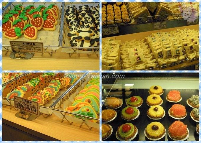 福利麺包(FLORIDA BAKERY) パン、ケーキ・洋菓子・鳳梨酥(パイナップルケーキ)・点心(中華菓子)など