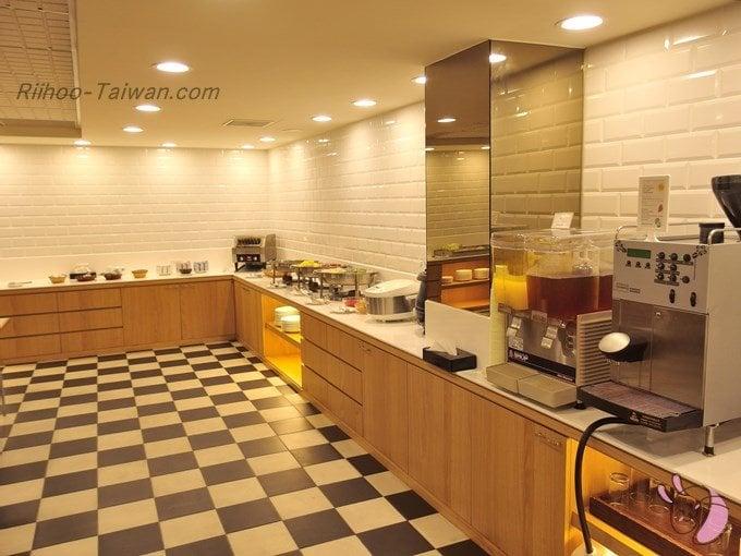 グッドライフホテル(上樺旅棧) 食事コーナー