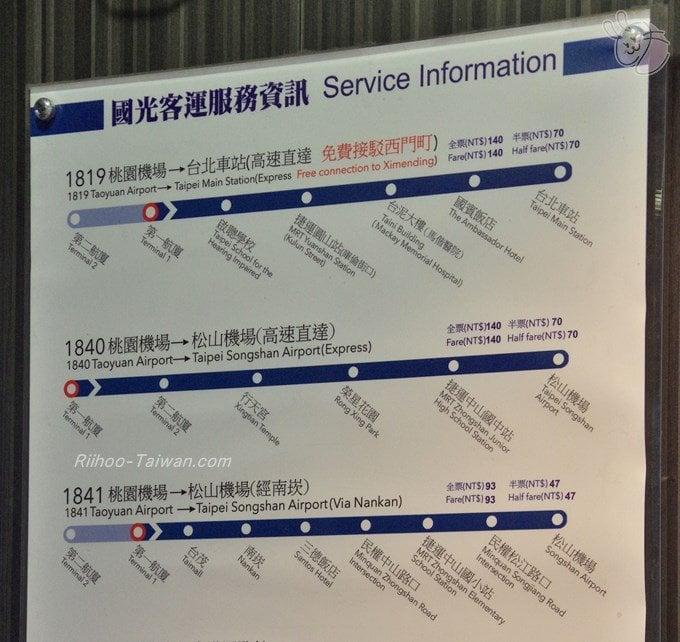 國光客運 路線図