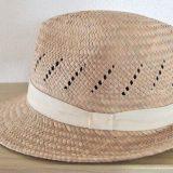 惠中布衣文創工作室 い草の中折れ帽子