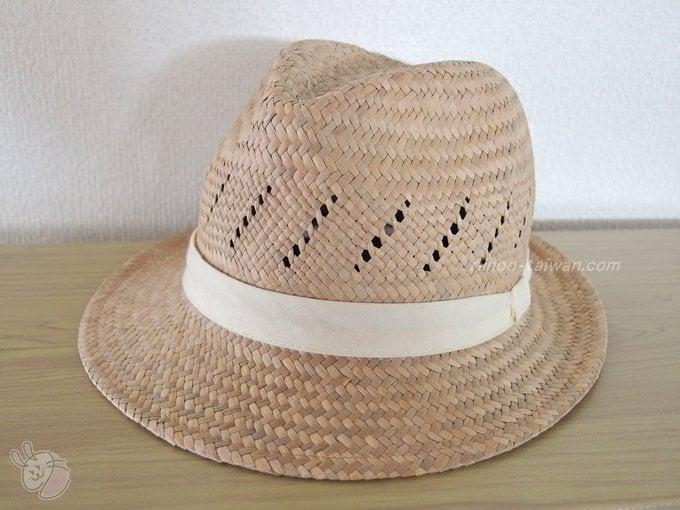 惠中布衣文創工作室 中折れ帽子の斜め正面