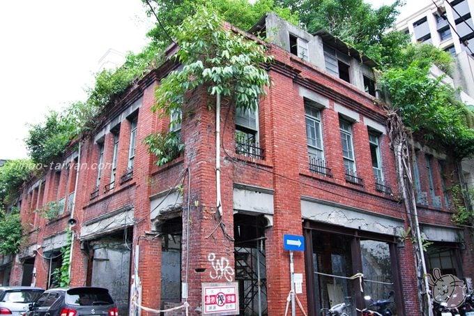 迪化街 廃墟のような建物