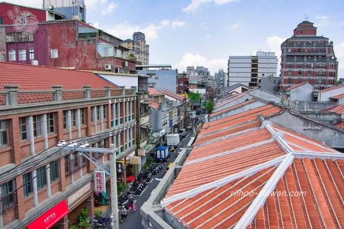 迪化207博物館 屋上から見える景色