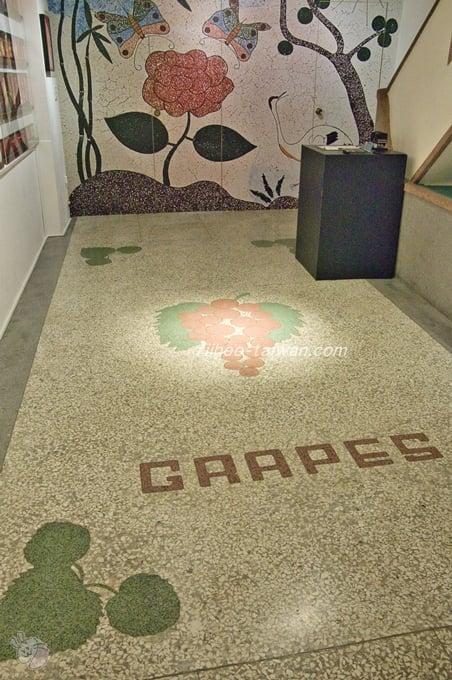 迪化207博物館  館内のオシャレな床