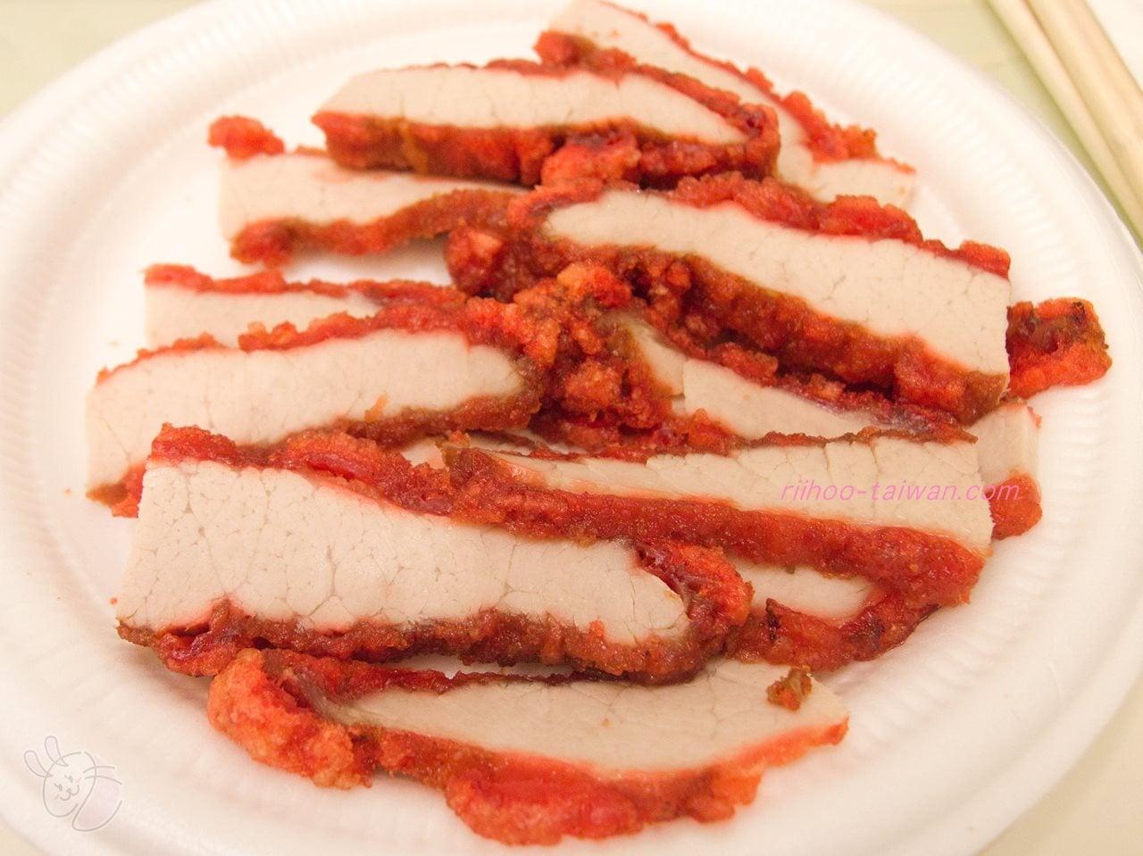 松江市場で買った紅焼肉