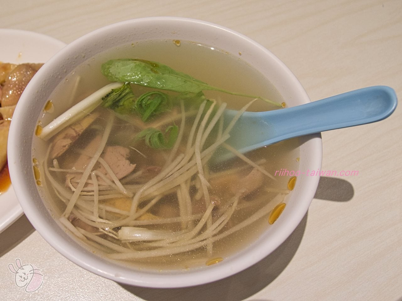文慶雞(文慶鶏)  下水湯