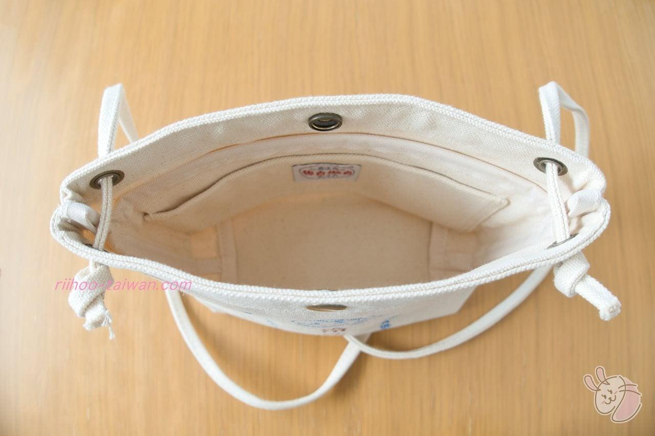 Pinkoi・自做自售創意供賣局 サコッシュ 残念ながら、バッグ内側にショルダーベルト(肩紐)が通っているので、 momoの持っている長財布(長さ:19cm)は、入りませんでした