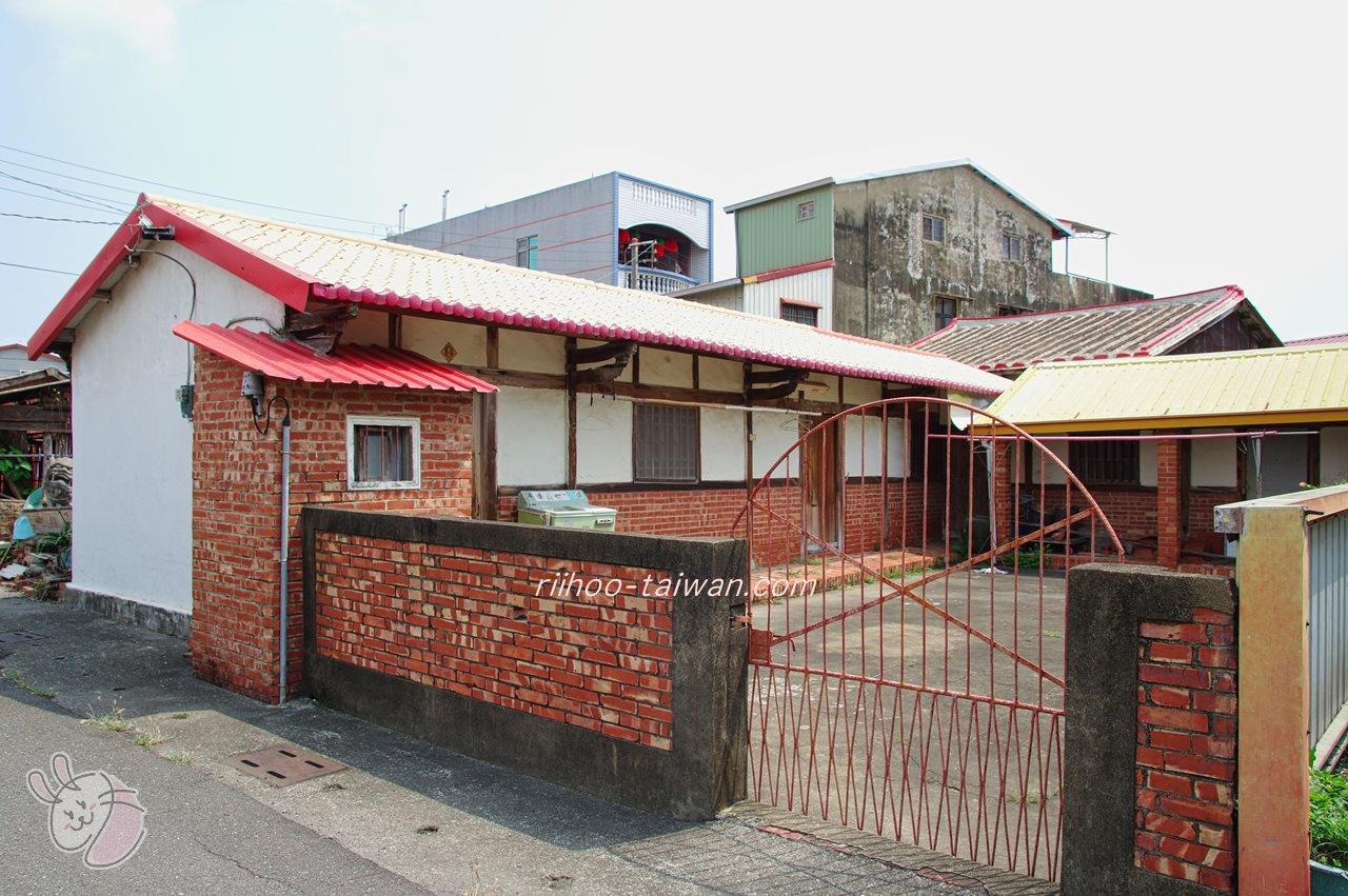 菁寮老街 レンガの古い家